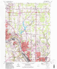 Download a high-resolution, GPS-compatible USGS topo map for Girard, OH (1997 edition)