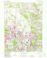 Download a high-resolution, GPS-compatible USGS topo map for Glendale, OH (1982 edition)