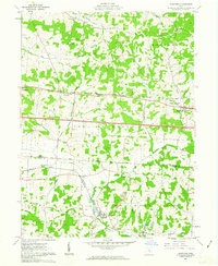 Download a high-resolution, GPS-compatible USGS topo map for Glenford, OH (1963 edition)