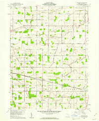 Download a high-resolution, GPS-compatible USGS topo map for Glenmore, OH (1961 edition)
