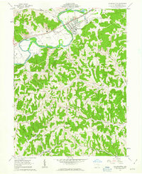 Download a high-resolution, GPS-compatible USGS topo map for Gnadenhutten, OH (1963 edition)