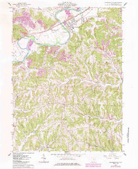 Download a high-resolution, GPS-compatible USGS topo map for Gnadenhutten, OH (1985 edition)