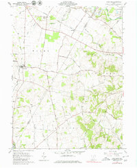 Download a high-resolution, GPS-compatible USGS topo map for Good Hope, OH (1980 edition)