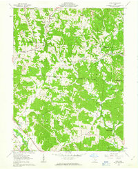 Download a high-resolution, GPS-compatible USGS topo map for Gore, OH (1963 edition)