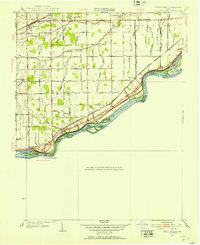 Download a high-resolution, GPS-compatible USGS topo map for Grand Rapids, OH (1953 edition)