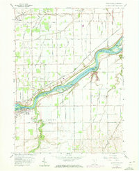 Download a high-resolution, GPS-compatible USGS topo map for Grand Rapids, OH (1973 edition)
