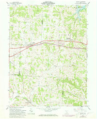 Download a high-resolution, GPS-compatible USGS topo map for Gratiot, OH (1973 edition)