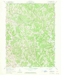 Download a high-resolution, GPS-compatible USGS topo map for Graysville, OH (1970 edition)