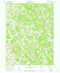 Download a high-resolution, GPS-compatible USGS topo map for Graysville, OH (1973 edition)