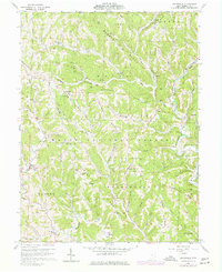 Download a high-resolution, GPS-compatible USGS topo map for Graysville, OH (1977 edition)