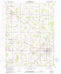 Download a high-resolution, GPS-compatible USGS topo map for Greenwich, OH (1990 edition)
