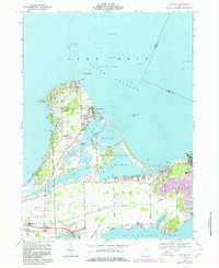 Download a high-resolution, GPS-compatible USGS topo map for Gypsum, OH (1980 edition)
