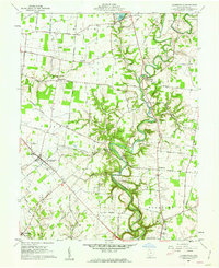 Download a high-resolution, GPS-compatible USGS topo map for Hamersville, OH (1962 edition)