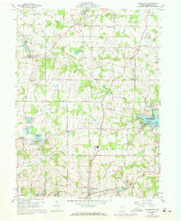 Download a high-resolution, GPS-compatible USGS topo map for Hanoverton, OH (1972 edition)