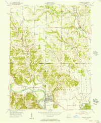 Download a high-resolution, GPS-compatible USGS topo map for Harrison, OH (1956 edition)
