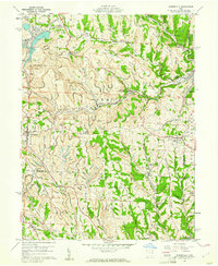 Download a high-resolution, GPS-compatible USGS topo map for Harrisville, OH (1961 edition)