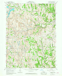 Download a high-resolution, GPS-compatible USGS topo map for Harrisville, OH (1968 edition)