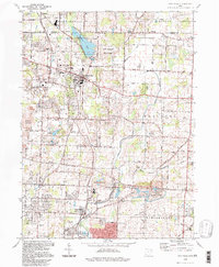 Download a high-resolution, GPS-compatible USGS topo map for Hartville, OH (1997 edition)