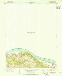 Download a high-resolution, GPS-compatible USGS topo map for Higginsport, OH (1953 edition)