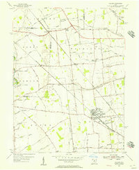 Download a high-resolution, GPS-compatible USGS topo map for Hilliard, OH (1956 edition)