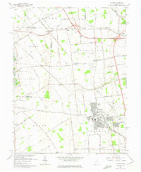 Download a high-resolution, GPS-compatible USGS topo map for Hilliard, OH (1974 edition)
