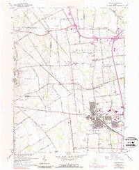 Download a high-resolution, GPS-compatible USGS topo map for Hilliard, OH (1989 edition)