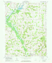 Download a high-resolution, GPS-compatible USGS topo map for Holmesville, OH (1973 edition)