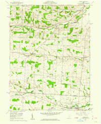 Download a high-resolution, GPS-compatible USGS topo map for Homer, OH (1962 edition)