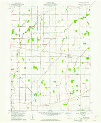 Download a high-resolution, GPS-compatible USGS topo map for Hoytville, OH (1961 edition)