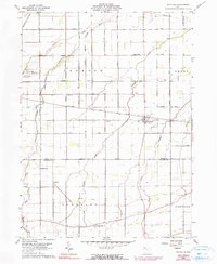 Download a high-resolution, GPS-compatible USGS topo map for Hoytville, OH (1990 edition)