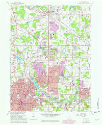 Download a high-resolution, GPS-compatible USGS topo map for Hudson, OH (1980 edition)