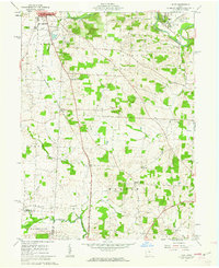 Download a high-resolution, GPS-compatible USGS topo map for Hunt, OH (1962 edition)