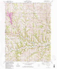 Download a high-resolution, GPS-compatible USGS topo map for Hunter, OH (1998 edition)