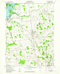 Download a high-resolution, GPS-compatible USGS topo map for Huntsville, OH (1962 edition)