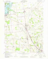 Download a high-resolution, GPS-compatible USGS topo map for Huntsville, OH (1974 edition)