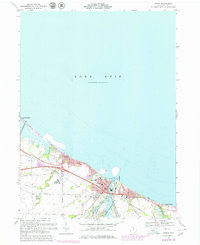 Download a high-resolution, GPS-compatible USGS topo map for Huron, OH (1979 edition)
