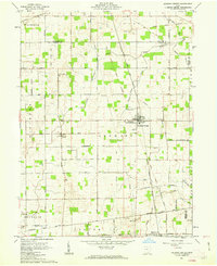 Download a high-resolution, GPS-compatible USGS topo map for Jackson Center, OH (1963 edition)
