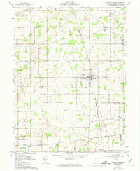 Download a high-resolution, GPS-compatible USGS topo map for Jackson Center, OH (1974 edition)