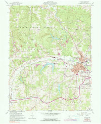 Download a high-resolution, GPS-compatible USGS topo map for Jackson, OH (1990 edition)