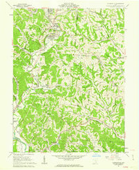 Download a high-resolution, GPS-compatible USGS topo map for Jacksonville, OH (1962 edition)