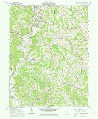 Download a high-resolution, GPS-compatible USGS topo map for Jacksonville, OH (1973 edition)