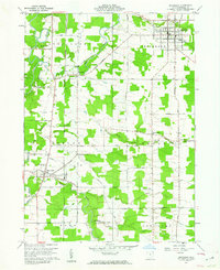 Download a high-resolution, GPS-compatible USGS topo map for Jefferson, OH (1962 edition)