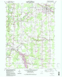 Download a high-resolution, GPS-compatible USGS topo map for Jefferson, OH (1997 edition)