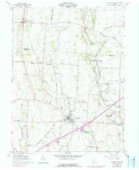 Download a high-resolution, GPS-compatible USGS topo map for Jeffersonville, OH (1990 edition)