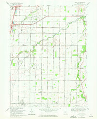 Download a high-resolution, GPS-compatible USGS topo map for Jerry City, OH (1971 edition)