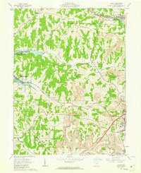 Download a high-resolution, GPS-compatible USGS topo map for Jewett, OH (1963 edition)
