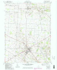 Download a high-resolution, GPS-compatible USGS topo map for Johnstown, OH (1984 edition)