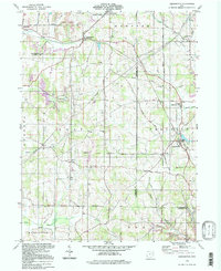 Download a high-resolution, GPS-compatible USGS topo map for Kensington, OH (1998 edition)