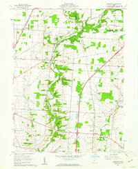 Download a high-resolution, GPS-compatible USGS topo map for Kilbourne, OH (1962 edition)