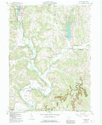 Download a high-resolution, GPS-compatible USGS topo map for Killbuck, OH (1992 edition)